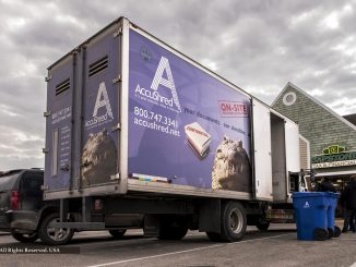 AccuShred on site for Capstone Tax & Financial in Saline Michigan