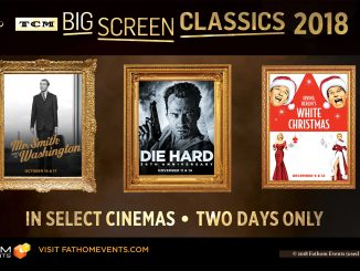 Fathom Events promotion for TCM Big Screen Classics 2018 including Die Hard movie image