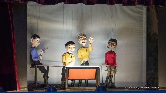 """Dreamland Theater """"Star Trek Puppet Show,"""" December 2018"""